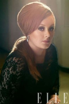 Adele: I do believe I am hopelessly in love with this woman. Red hair, those eyes and that voice..what can I say?