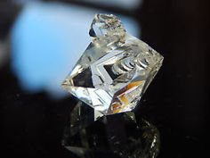 NATURAL WATER-CLEAR Dolphin Twin Herkimer Diamond Quartz Crystal! 23mm!!   #NorthernMaineMinerals #NMMrockshop