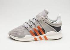 Adidas Equipment Support ADV Clear Granite Orange Shoes Orange Shoes, Sneaker Release, Granite, Adidas Sneakers, Street Wear, Shop, Fashion, Moda, Fashion Styles
