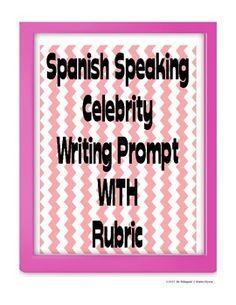 Spanish essay grading rubric