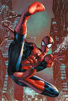 "Spider-Man - Web-Slinging 24"" x 36"" Poster – The Marvel vs. DC Store"