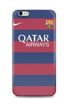 Barcelona Jersey 2015-2016 iPhone 6 Case by AR TEES CLOTHING. Case with Barcelona jersey color pattern, this case made of good material, this cool case also available for iPhone 4/4S, 5/5S, 5C, 6+ Samsung Galaxy Note 2, 3,Samsung Galaxy S3, S4, S5, Samsung Galaxy Grand, and also Redmi Xiaomi. http://www.zocko.com/z/JID0w