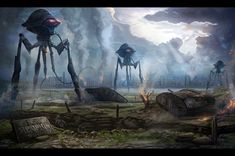 All Quiet on the Martian Front - War of the Worlds.
