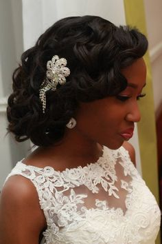 Latest Wedding Hairstyles Ideas Nigerian Brides 23