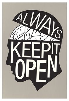 Always Keep It Open Poster Poster at AllPosters.com
