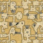 Old School Dungeon - quietlyscheming - Spoonflower