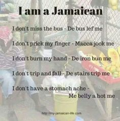 Only a true Jamaican