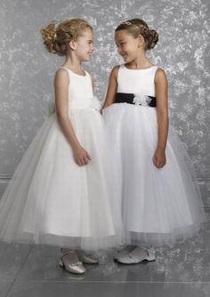Abiti damigelle bambine sposa (Foto)   Matrimonio pourfemme