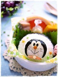 ドラえもんのキャラ弁/Doraemon