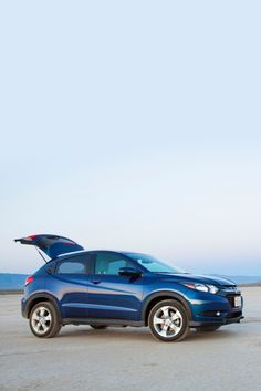 The 2020 Honda HR-V will point you toward adventure. With distinct exterior lines and great interior features, this subcompact SUV is comfortable and cool. Suv Honda, Honda Hrv, North Olmsted, Crossover Suv, Full Throttle, What Is Like, The Incredibles, Trucks, Adventure