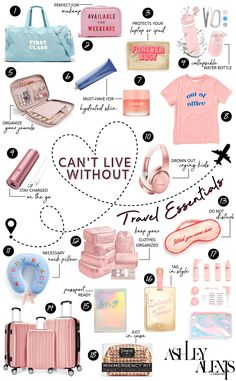 Cant Live without Travel Essentials Road Trip Packing, Packing Tips For Travel, Road Trip Outfit, Europe Packing, Traveling Europe, Backpacking Europe, Travelling Tips, Packing Lists, Budget Travel