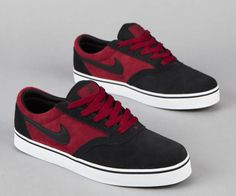 Nike Sb Shoes Red And Black