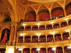Opéra de Budapest | Opéra Budapest | Budapest opéra