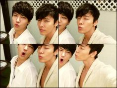 Super Junior's Yesung and Donghae cute selfie ^.^'