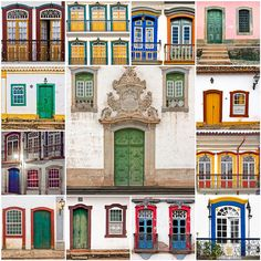 Doors and windows of Minas Gerais
