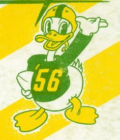 Old school Oregon football logo