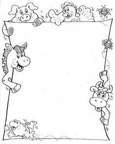 Atividades Infantil - Espaço Saber: Bordas Pedagógicas