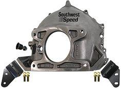 Chevy Tri-Five 55-57  Power Brake Booster Brackets w// Black Powder Coated Finish