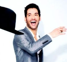"""Beautiful People Tom Ellis (photographed by Ian Maddox) "" Preston, Tom Ellis Lucifer, The Flash Grant Gustin, Dan Stevens, Taylor Kinney, Morning Star, Being Good, Handsome Actors, Sherlock Bbc"