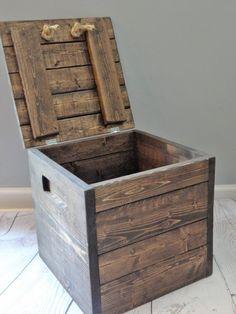 12x12 Wooden Box | Etsy