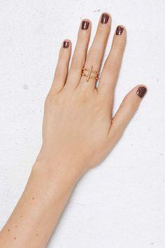 Anita K Cupid 18K Gold Ring - Rings | Gold