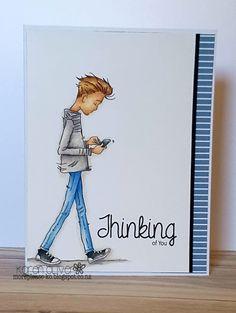 LOTV - Oliver Texting by Karen Oliver