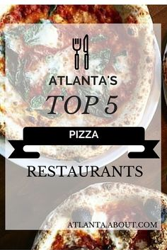 These top 5 steady winners are guaranteed to please your pizza pining. See the full list of Atlanta's best pizza. Pizza Atlanta, Atlanta Eats, Visit Atlanta, Atlanta Food, Atlanta Restaurants, Pizza Restaurant, Good Pizza, Dining, College