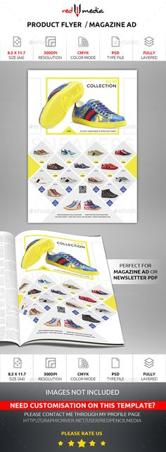 Product Flyer / Magazine AD - Template PSD