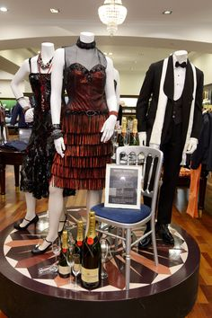 The Great Gatsby (2013)   Costumes on display at Brooks Brothers' Regent Street store in NYC.
