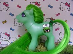 Custom My Little Pony Keroppi by Wendypony on Etsy, $15.00