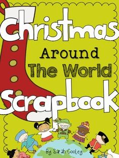 Take your students on a trip aboard Christmas Airlines to learn about Christmas in other countries! The Christmas Around the World Scrapbook is a creative way to track student learning, and is a wonderful keepsake! Christmas Activities, Classroom Activities, Christmas Themes, Christmas Fun, Holiday Fun, Holiday Break, Xmas, Holidays Around The World, Around The Worlds