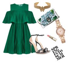 """""""Untitled #28"""" by fatahodzic ❤ liked on Polyvore featuring Jovonna, Gucci, Dolce&Gabbana and Michael Kors"""