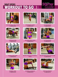 Strength Training http://www.muscleandfitnesshers.com/training/legs/hers-starter-guide