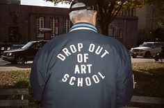 senior varsity style: drop out of art school