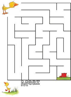 Gossie and Friends - Maze