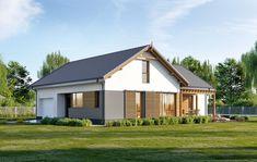 DOM.PL™ - Projekt domu ED E-248 CE - DOM ED2-55 - gotowy koszt budowy Home Fashion, Pergola, Shed, Outdoor Structures, Cabin, House Styles, Home Decor, Homemade Home Decor, Outdoor Pergola