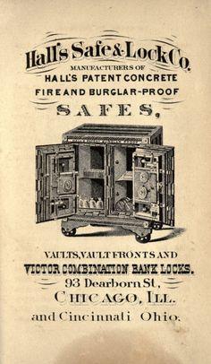 Us History, American History, Vintage Advertisements, Vintage Ads, Antique Safe, Safe Vault, Safe Lock, Sacks, Vaulting