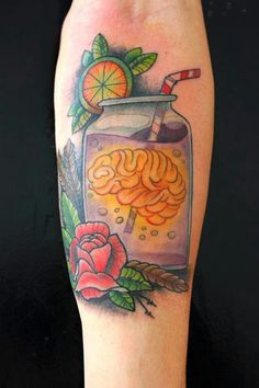 #tattoo, #dharma_tattoo_art, #cerebro