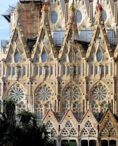 Basílica i Temple Expiatori de la Sagrada Família 1882-2026 Architect: Antoni Plàcid Guillem Gaudí i Cornet