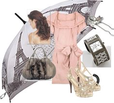 """Paris in Pink"" by deca30 on Polyvore"