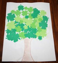 St. Patrick's Day idea - sweet photo