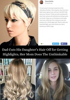 For any child, the most special day in their life is the day of their birth, nothing comes close to it. #Hair #Highlights #Unthinkable
