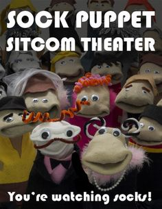 Sock Puppet Sitcom Theater – The Golden Girls (1985) – Tickets – The Echo – Los Angeles, California – October 13th, 2012   The Echo and Echoplex