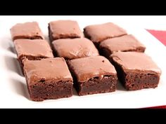 Glazed Chewy Brownies Recipe - Laura in the Kitchen - Internet Cooking Show Starring Laura Vitale