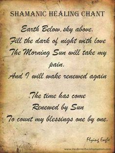 Spellwork | Healing Chant - Pinned by The Mystic's Emporium on Etsy