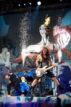 Iron Maiden on the Maiden England tour. I saw this tour in Nashville, 2013.