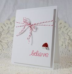Handmade Holiday - Christmas Greeting Card at EndlessInkHandmade's Etsy shop