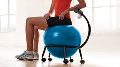 Balance Ball Chair -- Maybe it could fix my horrible desk posture?