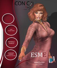 https://flic.kr/p/Rw1mSn   ICONIC_ESME   ICONIC ESME Hairology Exclusive  What am I wearing? Skin: Modish Leta Makeup:Studio Exposure Dress: Cynful Dopplerganger Choker: Ryca Nails: Absolut Vendetta Phon: Myphone7 Head:Catwa Body: Maitreya