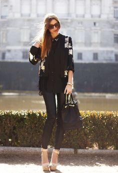 H&M  Рубашки/Блузки and Zara  Брюки